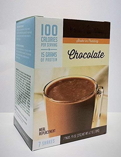 Ideal Protein Compatible FitWise 100 Calorie High Protein Chocolate Pudding/Shake Mix