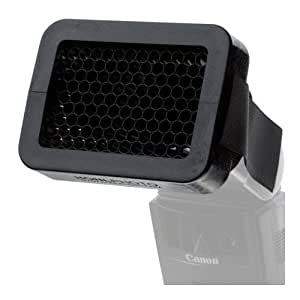 """Honlphoto 1/4"""" Honeycomb Speed Grid for Shoe Mount Portable Flashes"""