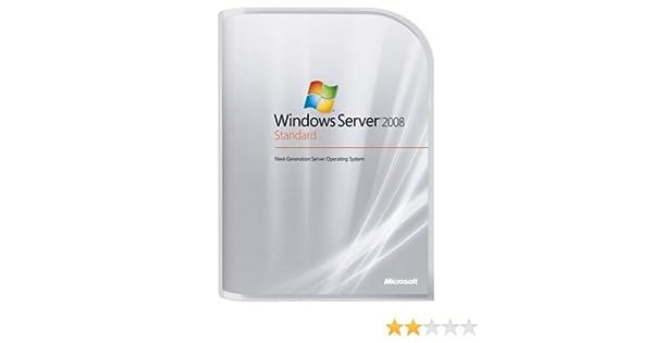 Amazon com: Microsoft Windows Server Standard 2008 5 Client