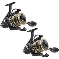 Penn 1338221 Battle II 6000 Spinning Fishing Reel (2 Pack)