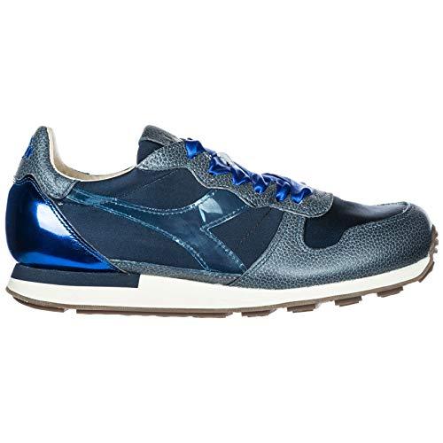 Sneakers Pelle Nuove Scarpe Diadora Blu Donna Camaro H In Heritage RExqf