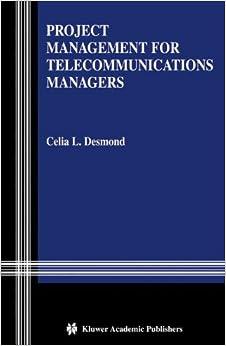 Descargar Libro Kindle Project Management For Telecommunications Managers Archivos PDF