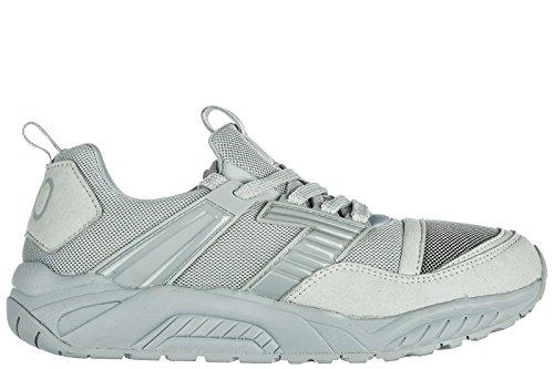 Shoes Emporio Women's Sneakers Trainers Grey Armani EA7 prq6tr