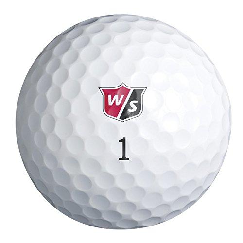Wilson Staff True Distance Personalized Golf Balls - Add Your Own Text (12 Dozen)