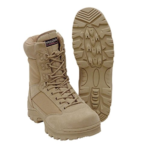 "VooDoo Tactical 04-8378083013 9"" Boots, Desert Tan, 13R"
