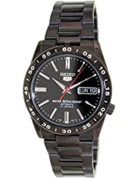 Seiko Men's 5 Automatic SNKE03K Black Stainless-Steel Automatic Watch