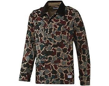 adidas Chaqueta para Hombre Camo Safari Jacket, S, x55301: Amazon.es: Deportes y aire libre