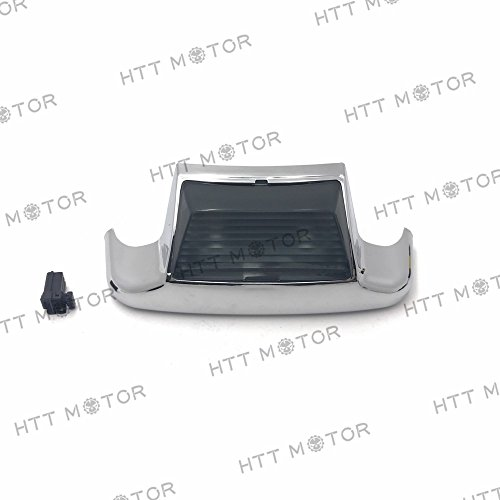 HTTMT MT438R- Rear Smoke LED Fender Tips Lights Compatible with Harley 1980-2008Touring Softail FLSTC FLHT