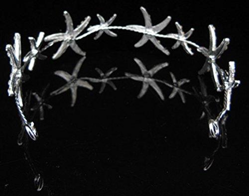 Women's Girl's Hair Head Band Starfish Headwear Hair Beach Wedding by Bienvenu (Image #5)'