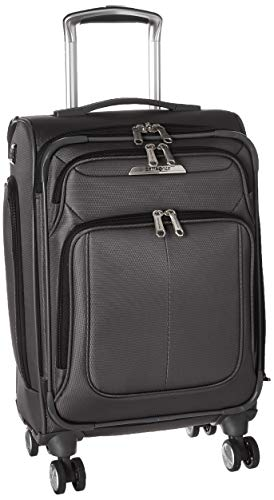 (Samsonite Carry On, Mineral Grey)