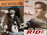 2 Jack Nicholson DVDs - Little Shop of Horrors and The Wild Ride (1960)