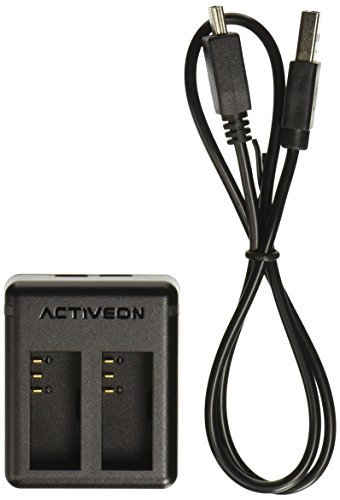 CX Battery Charger (Black) by Activeon