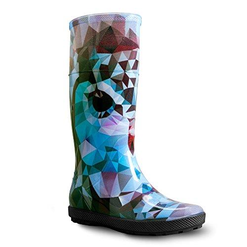de Botas Lady Hawai Exclusive Colores Eule Lluvia Varios Botas goma demar C5wnxqUqd