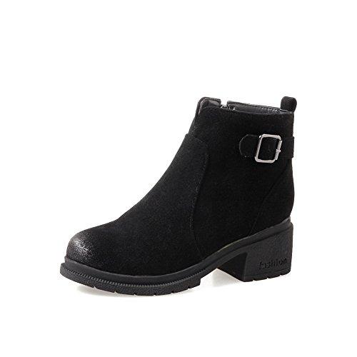 BalaMasa Abl10460, Sandales Compensées femme - Noir - noir,
