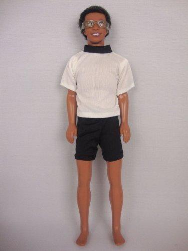 Ken Doll Casual 2 piece Shorts /& White Shirt with Bonus Sunglasses