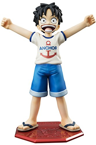 Mega Hause Excellent Model Mild Portrait of Pirates Cb-r1 ONE Piece Monkey · D · Luffy About 120mm Pvc-painted PVC Figure