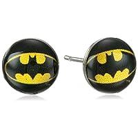 DC Comics Batman Symbol 316L Aretes de acero quirúrgico 8mm