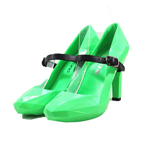 simples talons Surface Cristal Chaussures à green Chaussures Caoutchouc QPYC Bonbons Diamant Couleurs Femmes hauts q4SZwv7
