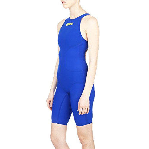 Arena Women's Powerskin R Evo+ Full Body Short Leg Swimsuit, 26, Electric Blue