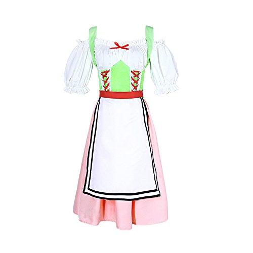 Costume Medievale Abito Vittoriano Donna Travestimento NSPSTT Bianco Vestito Cosplay Partito 5fYTOqAx