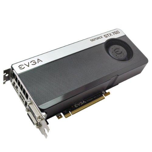 EVGA GeForce GTX 760 - Tarjeta gráfica (GeForce GTX 760, 4096 x 2160 Pixeles, NVIDIA, 2048 MB, GDDR5-SDRAM, 256 bit)