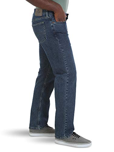 ccd5e7c6 ... Wrangler Authentics Men's Big & Tall Relaxed Fit Comfort Flex Waist Jean,  dark stonewash, ...