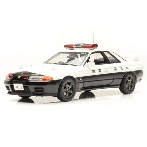 Kyosho – kyos08366 a – Fahrzeug Miniatur – Nissan Skyline Polizei – Maßstab 1/18