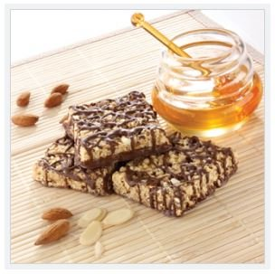 ProtiDiet Honey and Almond Squares - 7 servings