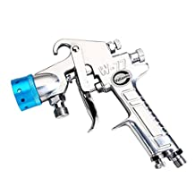 Valianto W-77 Nozzle Color Available Pressure Feed Spray Gun Blue Nozzle Size 3.0mm