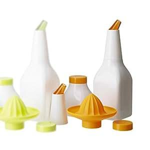 Ikea Soda 5 en 1 _ 2 botellas/Exprimidor/boquilla/Tapa - Jarra para zumo nuevo/naranja: Amazon.es: Hogar