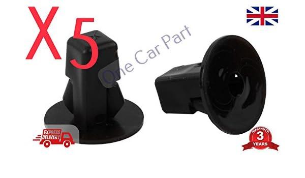 5 arcos de rueda de montaje con tornillo, ala interior, embellecedores para parachoques: Amazon.es: Coche y moto