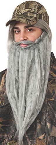 Rubie's Costume Men's Duck Hunting Season Adult Hunter Forest Baseball Cap, Multi, One Size