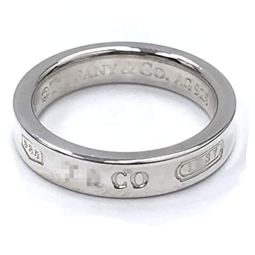 TTBRAND 925 Sterling Silver 1837 Narrow Ring in Size 8 by TTBRAND