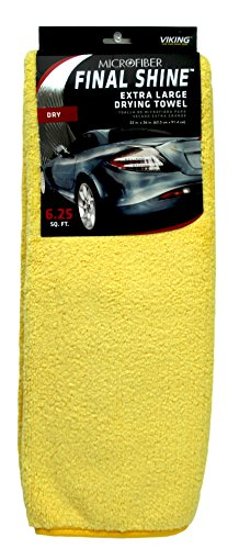 Viking Extra Large Microfiber Drying Towel - 6.25 Square Feet (Towel New 8 Microfiber)