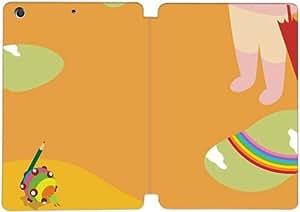 Cubierta de cuero y caja de la PC funda / soporte para funda de Apple iPad Mini 1,2,3 funda Con Magnetic reposo automático Función de despertador DIY por Katamari Damacy L1T8Fj4M3Sg