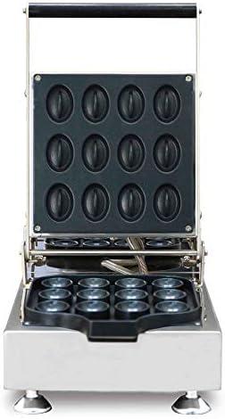 1600W Gaufrier Belge, Électrique Antiadhésifs Waffler 2 Tranches Gaufrier Température Et Le Temps De Contrôle Pour Mini Individuel Gaufres, Paninis, Browns Hash,220V