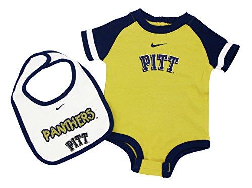 - Nike NCAA Boy's Pitt Pittsburgh Panthers 2 Piece Bib and Bodysuit