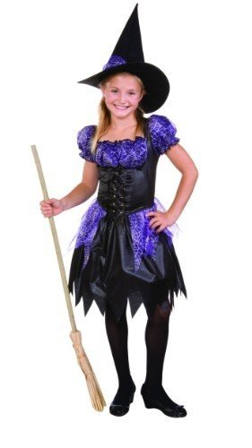 RG Costumes Sparkle Witch, Child Small/Size 4-6 (Witches Dress Up)