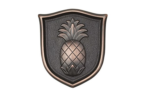 Architectural Mailboxes 3630ORB Aluminum Oil Rubbed Bronze Pineapple (Pineapple Emblem)