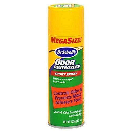 Odeur Dr. Scholl Détruisez pied Sport Déodorant Spray 4.7 oz