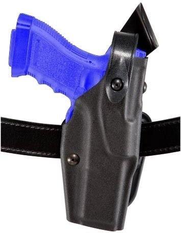 - Safariland 6367 ALS/SLS Belt Loop Holster with Hood Guard Colt Government Holster, Plain Black, Right