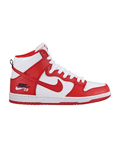 Nike Men's SB Zoom Dunk High Pro University/Red/University/Red Skate Shoe 13 Men US