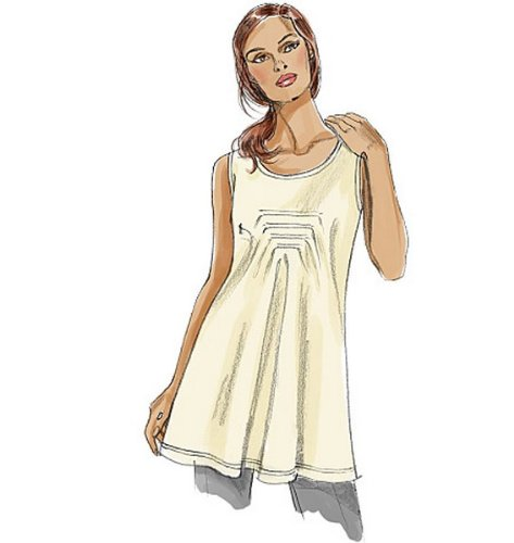 Amazon.com: Vogue Patterns V8731 Misses\' Top and Tunic, All Sizes