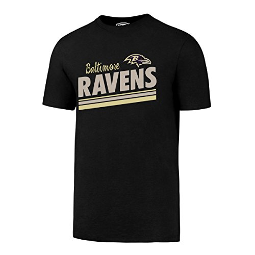OTS NFL Baltimore Ravens Men's Alt Rival Tee, Jet Black, Large ()
