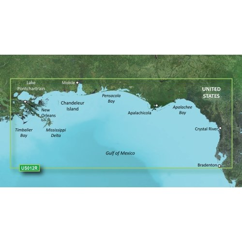 (Garmin VUS012R - Tampa to New Orleans - SD Card)