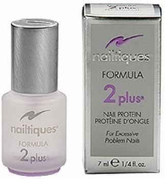 Nailtiques – Nail Protein Formula 2 Plus - For Excessive Problem Nails that are Soft, Peeling, Bitten, Weak or Thin - 0.25 oz