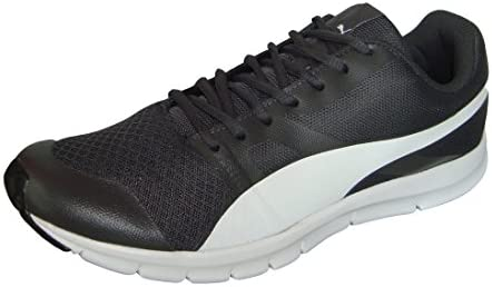 f4138d312403 Puma Men s Flexracer IDP Asphalt and Puma White Running Shoes - 10 UK India  (