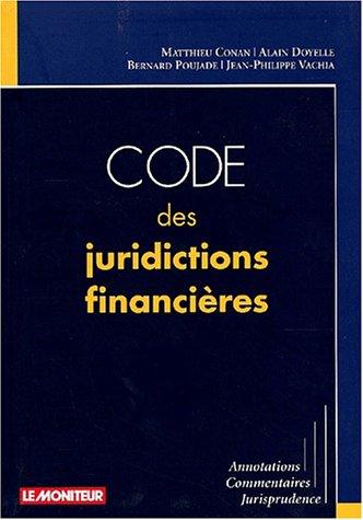 Download Code des juridictions financières ebook