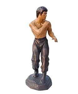 aurotrends bruce lee ceramic statue chinese kung fu figurines bruce lee action. Black Bedroom Furniture Sets. Home Design Ideas