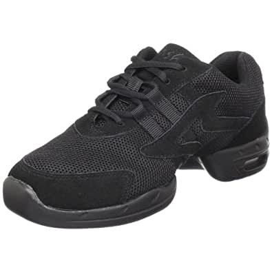 M Sansha Motion Dance Sneaker,Black,10 M Sansha (8.5 M US Women's)